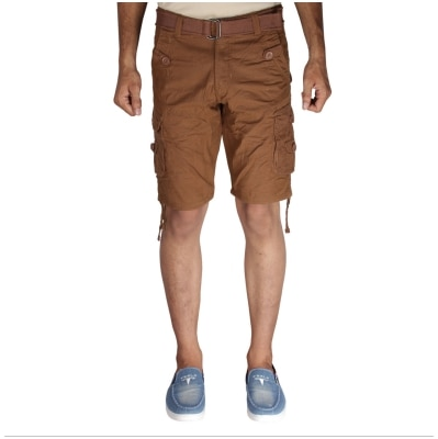 Greentree Mens Cotton Shorts 6 Pocket Cargo khaki Shorts MASR42