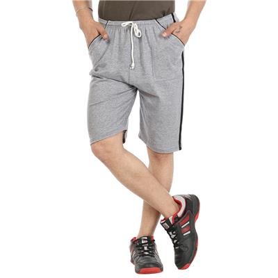 Gumber Grey Solid Free Size Shorts