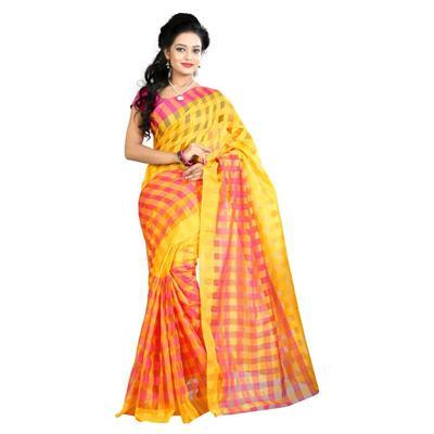 Indian Beauty Indra Cotton Sari