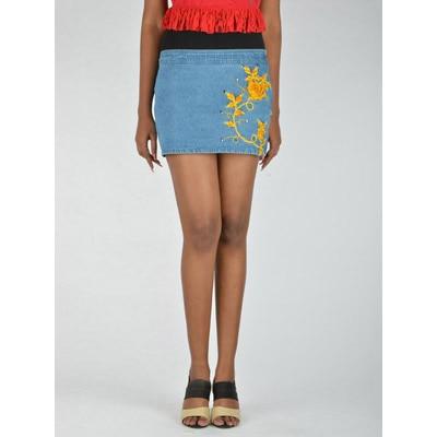 ITS HOT Blue Denim Skirt