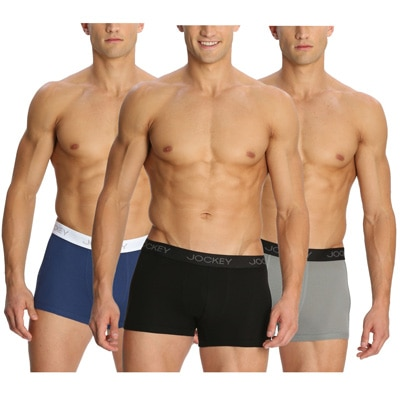 Jockey Assorted Cotton Pack Of 3 Trunks