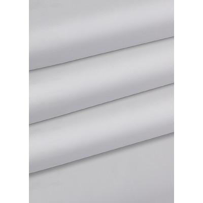 Kapash White Cotton Solid Shirt Fabric