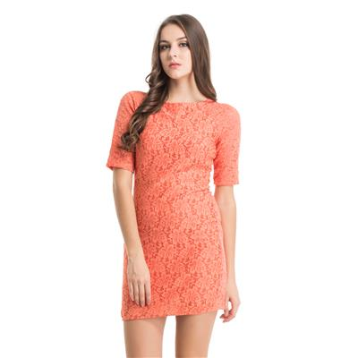 Kazo Orange Dress