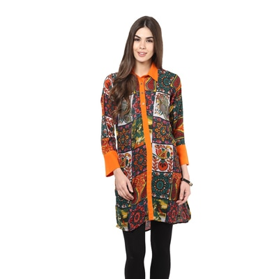 La Firangi Multi Cotton Kurti