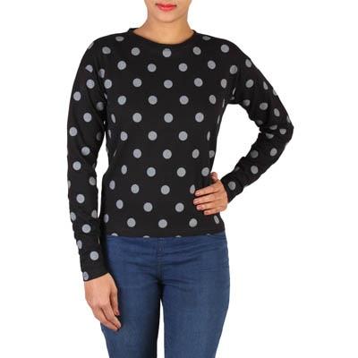 LEE Black Cotton Sweatshirt