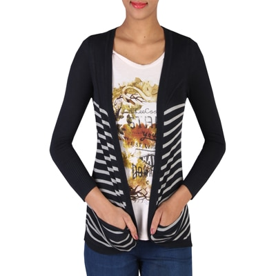 LEE Black Viscose Sweater