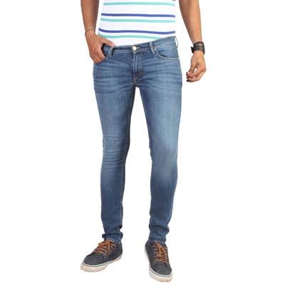 Lee Blue Denim Skinny Jeans