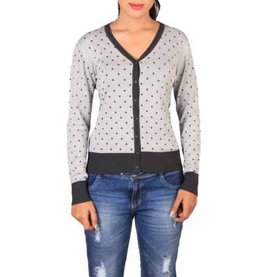 Lee Grey Regular Fit Sweater