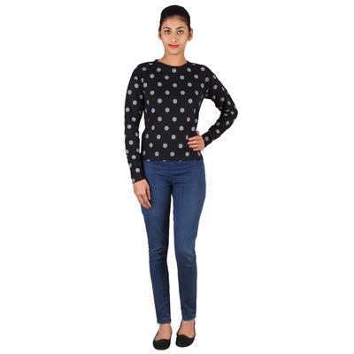 Lee Women Black Sweatshirt