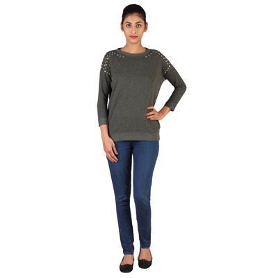 Lee Women Olive Night Sweatshirt