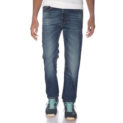 Levi's Light Blue Mid Rise Straight Fit Jeans