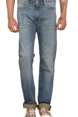 Levi's Mens Blue Slim Fit Stretch Torn Distressed Jeans 511