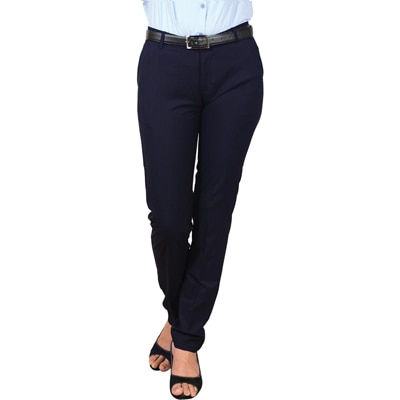 LGC Navy Cotton Formal Trousers
