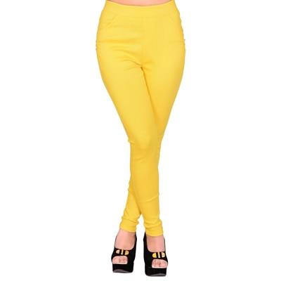 LGC Yellow Twill Regular Fit Jegging