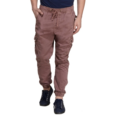 Monteil & Munero Brown Cotton Jogger