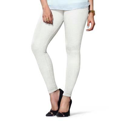 Lux Lyra White Cotton Legging