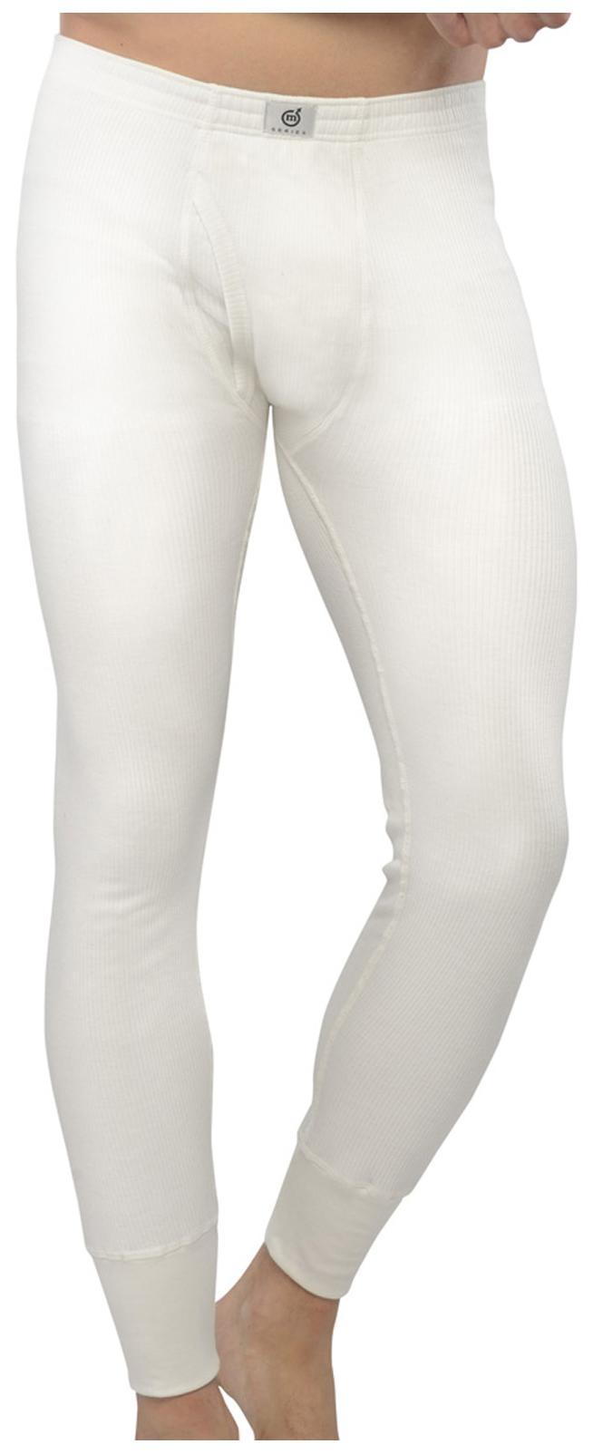 Macroman White Knit Lower Thermal