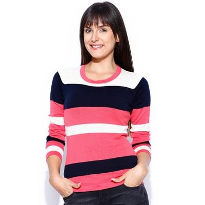 Manola Pink Cotton Sweatshirt