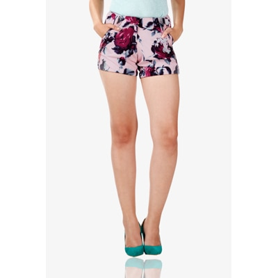 Miss Chase Multi Polyester Short