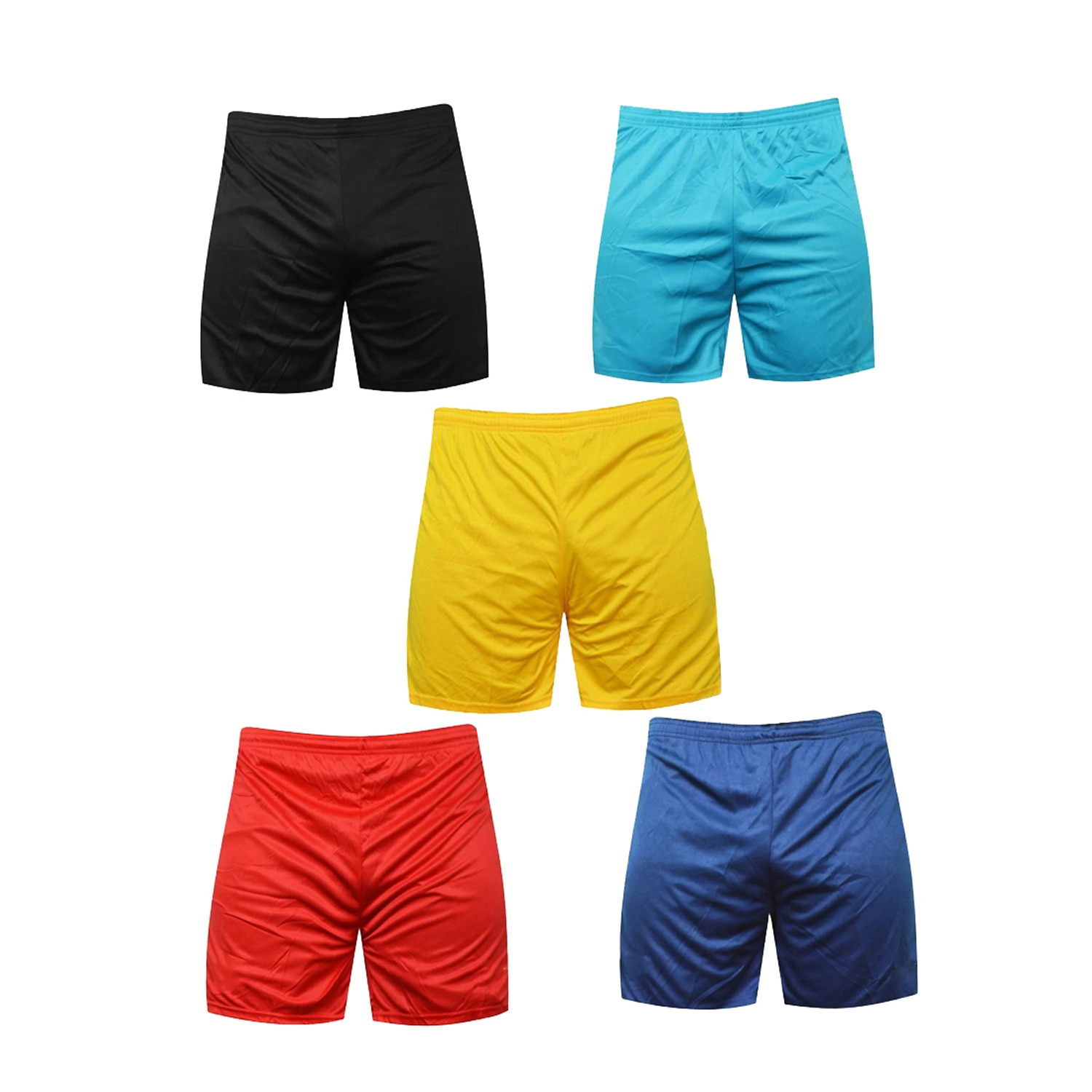 Mj Store Present Polyster Dry-Fit Men's Lounge, Beach, Bermuda, Casual, Sports, Night wear, Cycling Shorts , Running Shorts , Half Pant , Football Shorts , Swimming Shorts Combo Pack Of 5