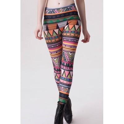 N-Gal Fashion Seamless Print Women Leggings