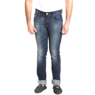 Numero Uno Eco  Blue Low Rise  Regular Fit  Jeans  (Morice)