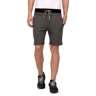 Odoky D.Grey Cotton Casual Shorts 1