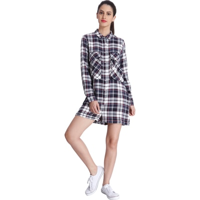 ONLY Checks Playsuit(1785490001)