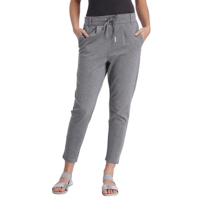Only Grey Viscose And Nylon Track Pant