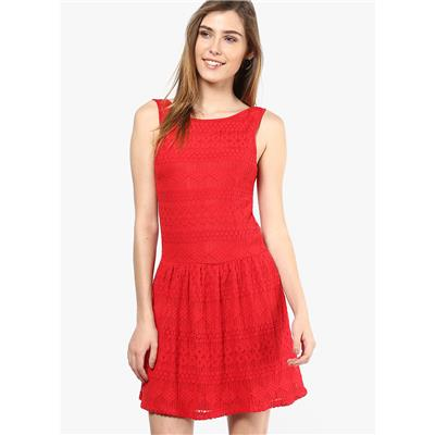 Only Women's Sleeveless Casual Dress