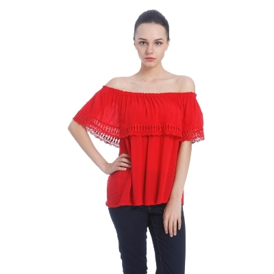 Only Women's Casual Off Shoulder Top