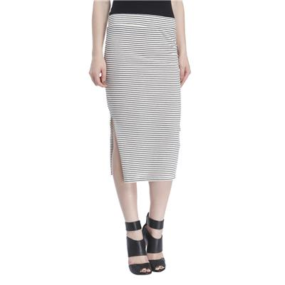 Only Women's Casuals Striped Skirt