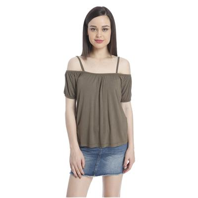 Only Women's Casuals Solid Top