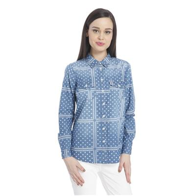 Only Women's Casuals Printed Shirt