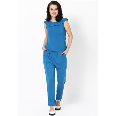 Only Women's Full Sleeves Casual Jumpsuit