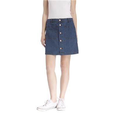 Only Women's Casuals Solid Skirt