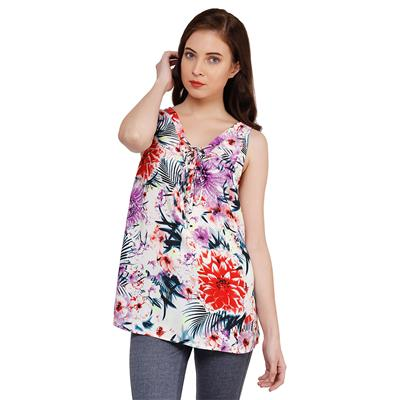 Oxolloxo Women Floral Top