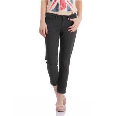 Pepe Jeans Women's Solid Black Pants