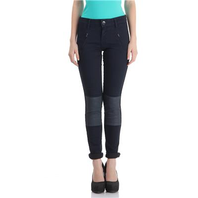 Pepe Jeans Women's Solid Blue Jeans