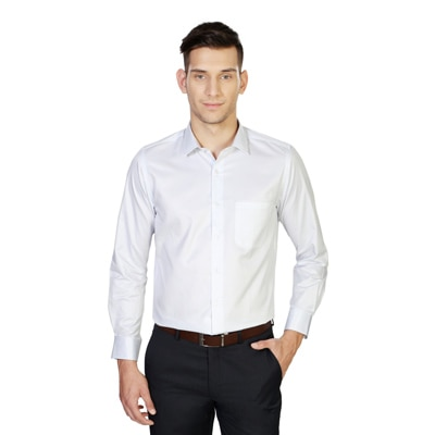 Peter England White Casual Shirt