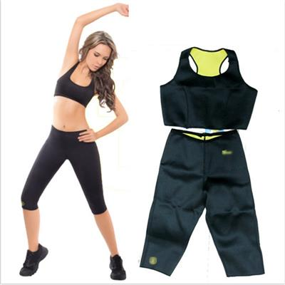 Pickadda Hot Shapers set Sports Slimming Bodysuit Shaper Pants+ Stretch...