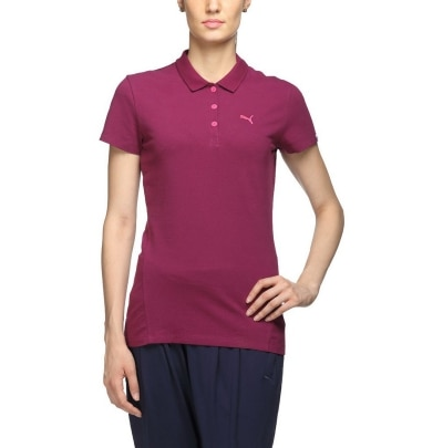 Puma ESS Polo W Magenta Purple