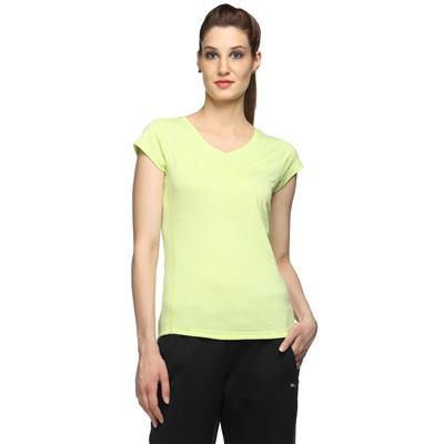 Puma green Women Slim T-Shirt