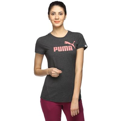 Puma Grey Women Slim T-Shirt