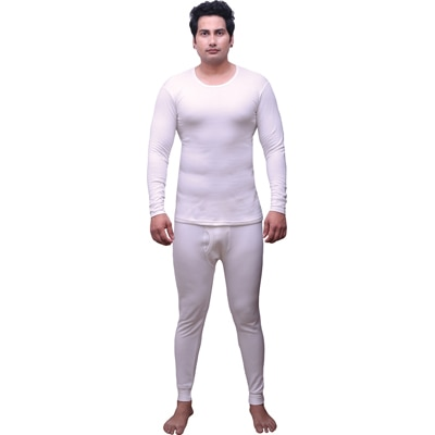 Selfcare White Poly Cotton Thermal