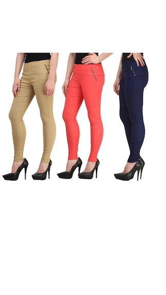 Skyline-Trading-Womens-Slim-Fit-Jeggings-Pack-of-2