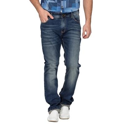 Spykar Blue Low Rise Slim Fit Jeans (Rico)