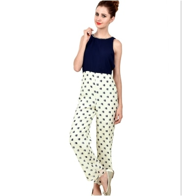 Stand-out Printed Jumpsuit