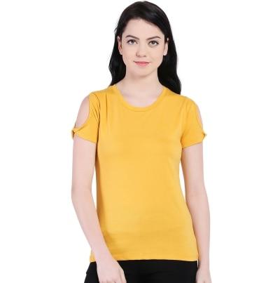 Style Quotient June Mustard Tshirt
