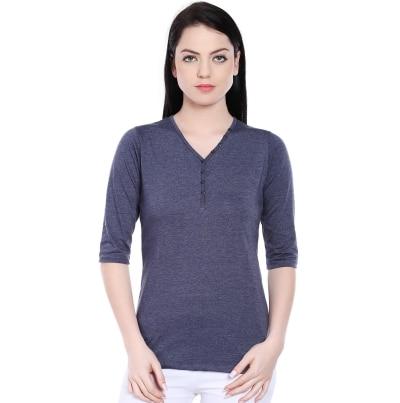 Style Quotient Purva Navy Tshirt